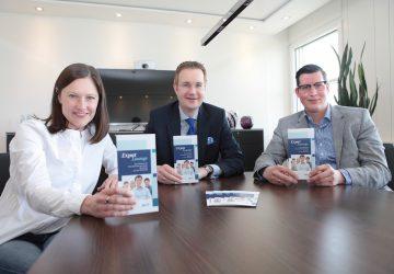 Doris Skala-Gast, Timo Antons und Philipp Kuhn organisieren die Expat-Lounge in Braunschweig.
