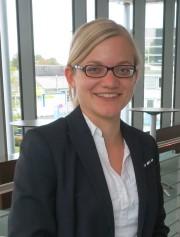 Miriam Krampe ist für die Durchführung der Karrieremessen verantwortlich. Foto: Volkswagen Financial Services AG