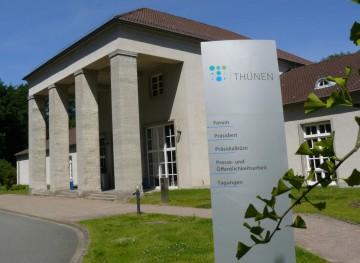 1.Vom Braunschweiger Thünen-Forum aus werden 14 Fachinstitute in Braunschweig und dem ganzen Bundesgebiet geleitet. Foto: Michael Welling