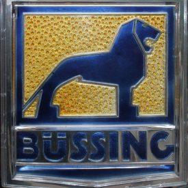 Das Büssing Logo mit dem Braunschweiger Löwen. Foto: gemeinfrei